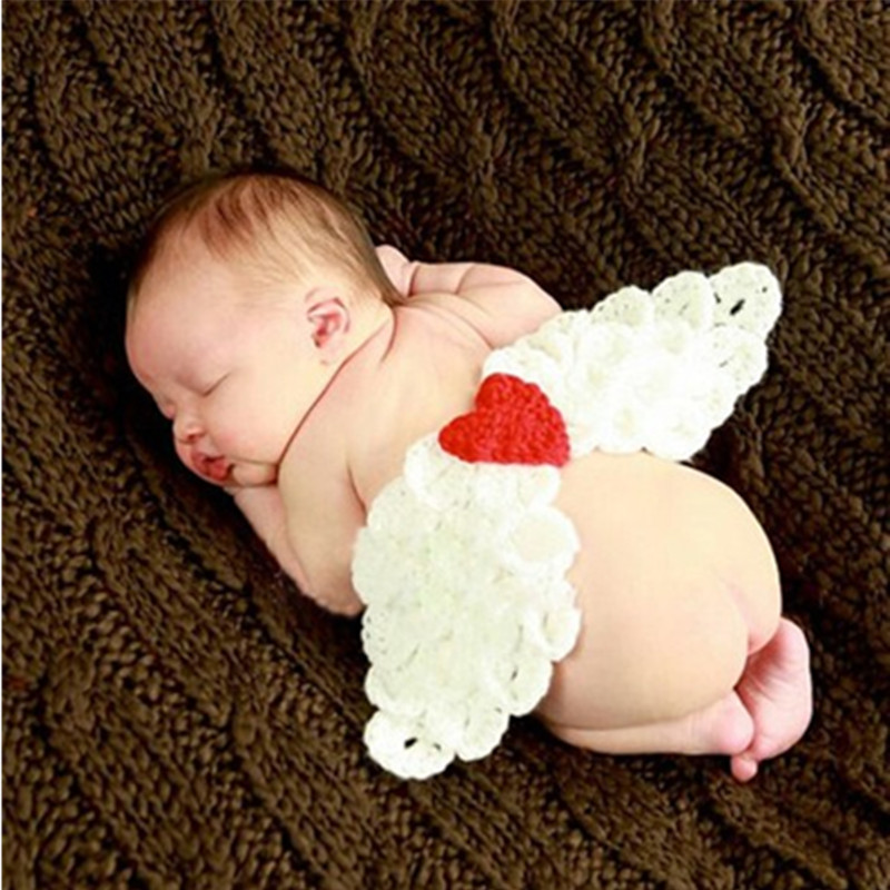 Newborn Photography Props Angel Wings Baby Clothes Photography Knitted Baby Photo Props	 Studio Newborn Fotografia Accessories