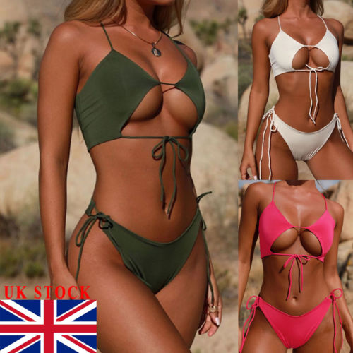 Thefound 2019 Fashion Women   Bra     Set   Swimsuit High Waist Ladies Bathing Suit Swimwear Beachwear