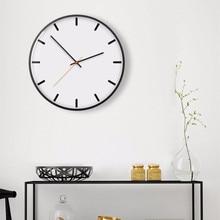 New 3D Wall Clock Quartz  Circular Duvar Saati 30cm 35cm Silent Movement Modern Design Brief Large Size