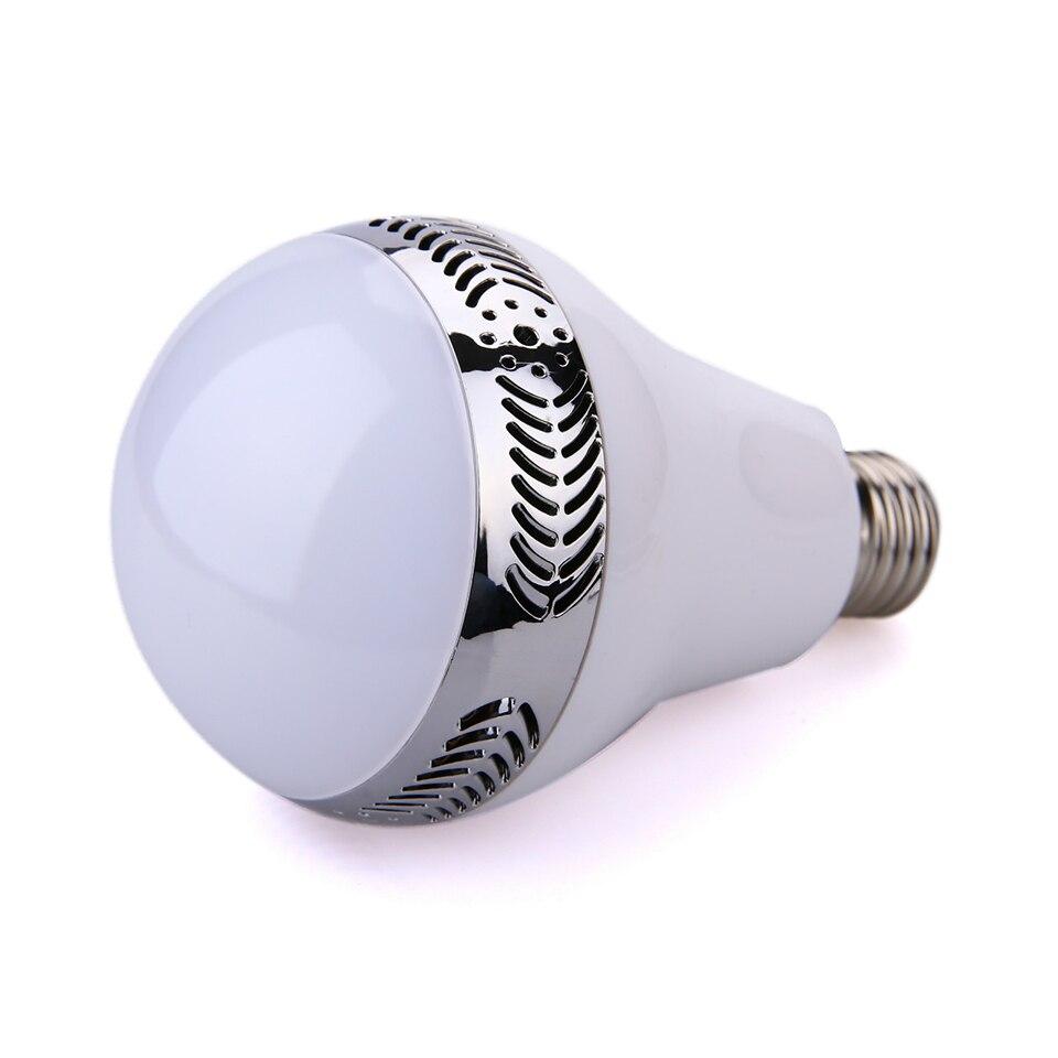 Ampoule bluetooth avec haut-parleur lumières musique jouer dimmable intelligent E27 app contrôle led lampe à ampoule led intelligente préfet pour la fête - 3