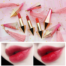2019 New High Quality Girl Diamond Lipstick Non-stick Cup Moisturizing No Coloring Grapefruit Red beauty Makeup tools