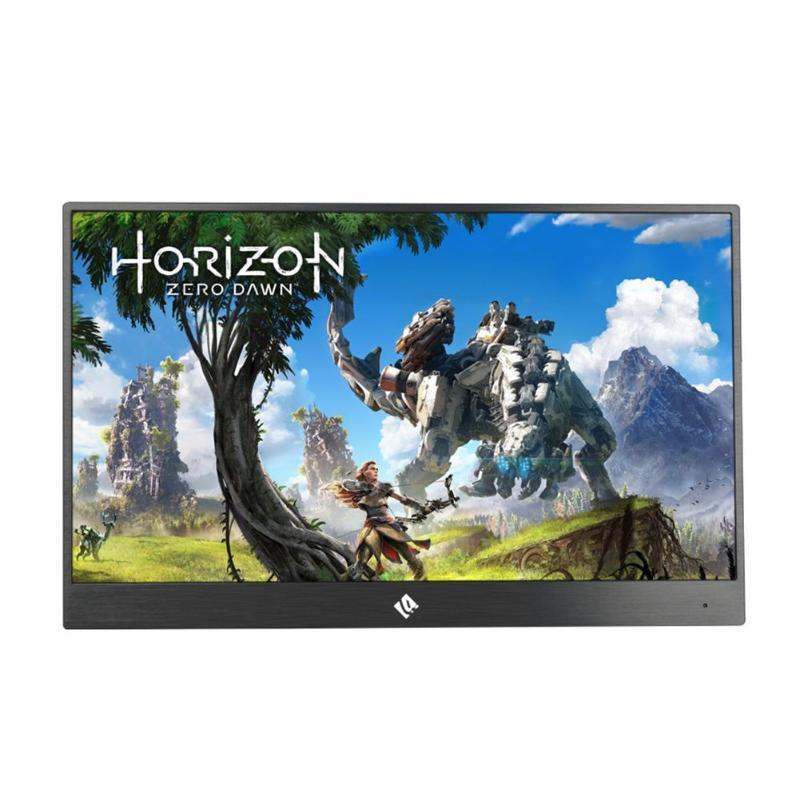 ALLOYSEED 15.6 Pollici 4 K Monitor HDR 3840X2160 IPS Tipo-C schermo di Visualizzazione Dello Schermo Portatile 60FPS Video di Gioco per PS4 Pro/XBOX One X