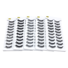 new style 10 pairs of false eyelashes soft comfortable long Eye lashes fashion