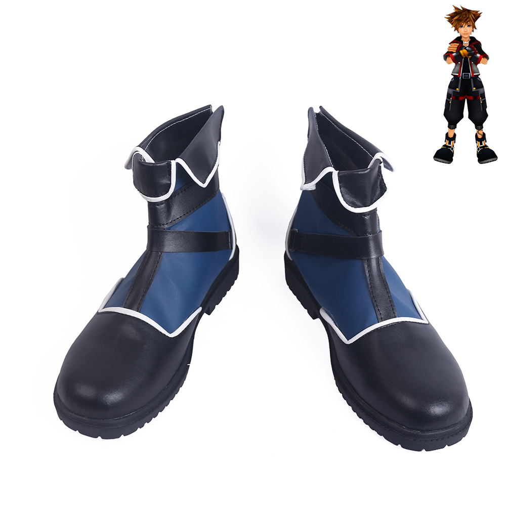 Kingdom Hearts Sora Cosplay Shoes Men Boots
