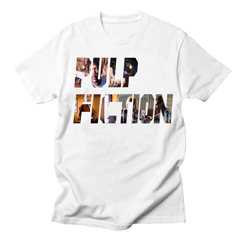 a4f92ce4cf30 LettBao Movie Mia Wallace Pulp Fiction White Tee Women Short Sleeve Quentin  Tarantino T-shirt