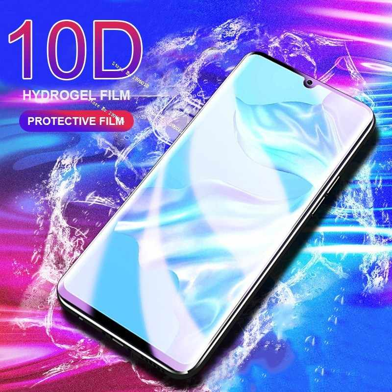 10D Full Protective Soft Hydrogel Film For Huawei P20 Lite P30 Mate 20 Pro Cover Screen Protector Film Honor 8A 8C 8X 9 10 Film