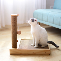 Cat Corrugated Paper Board with Sisal Climbing scratching post Cats Scratcher Toys Kitten Funny Platform Lounger Sofa bed CW216