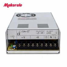 цены 320W Switching Power Supply High Efficiency 220v Ac To 24vdc 12.5A Switching Model Power Supply