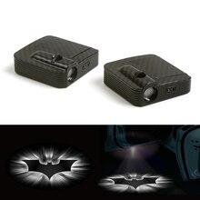 цена на Fit For White Batman Logo Car Door Wireless LED Laser Projector Ghost Shadow Light 12V