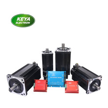 RS232 Can open control 24V 400W 200W bldc servomotor with 4:1 7:1 planetary gearbox with dual channel controller