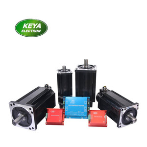 Image 1 - RS232 Can open control 24V 400W 200W bldc servomotor with 4:1 7:1 planetary gearbox with dual channel controller