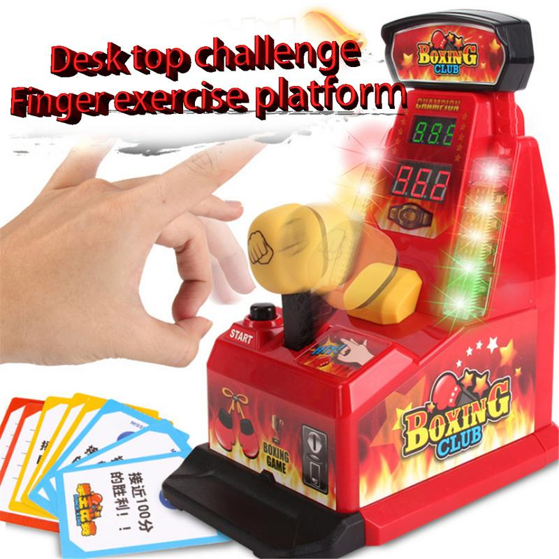 Desk Top Challenge Game Finger Punching Machine Kindergarten Toys Indoor Table Games Toys Innovative Educational Toys image