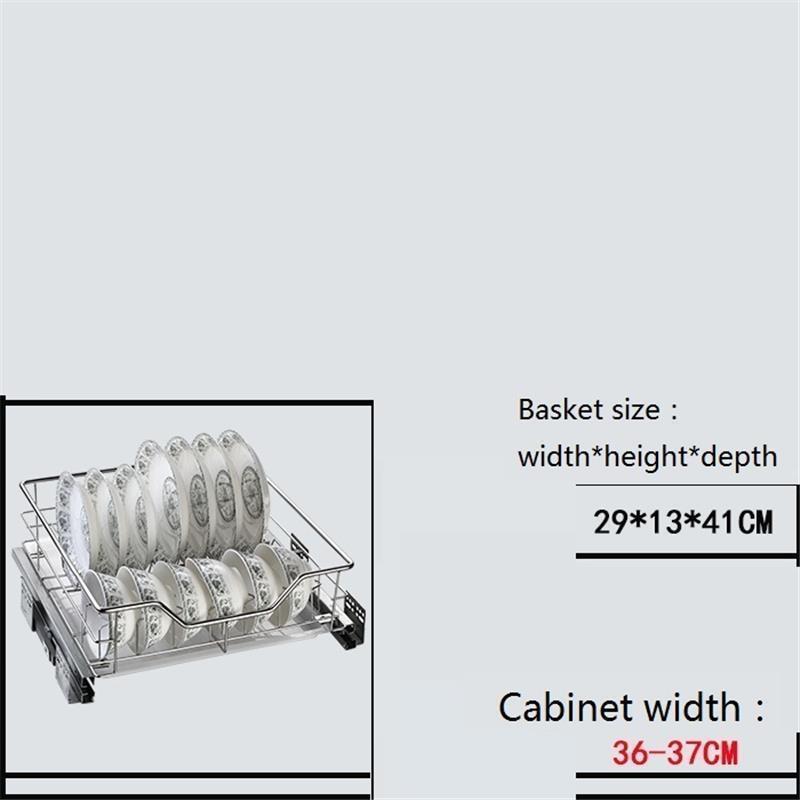 Organisadores Armario De Cosina Drawer For Stainless Steel Organizer Cocina Rack Kitchen Cabinet Cestas Para Organizar Basket in Racks Holders from Home Garden