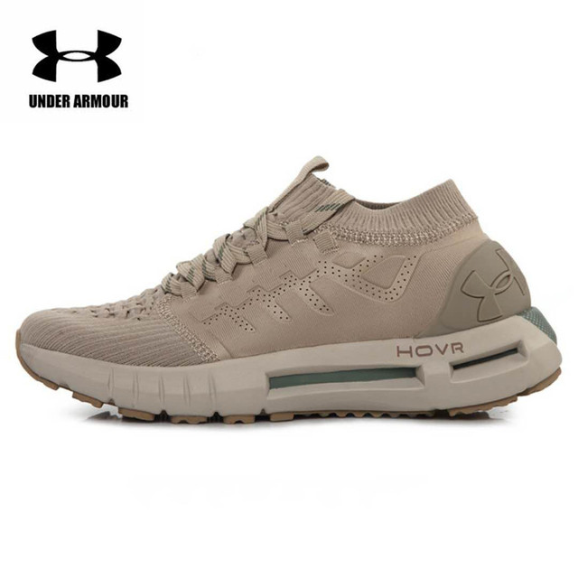 3b861292168c8b Under Armour UA HOVR Phantom Charged Men's Mesh Breathable Light Sport  Fabric Running Shoes For Male Training Shoes 9 Colors