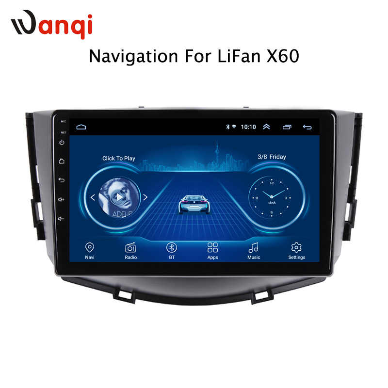 Android car DVD gps multimedia player For lifan X60 2012-2016 car DVD Navigation Radio Video Audio Player