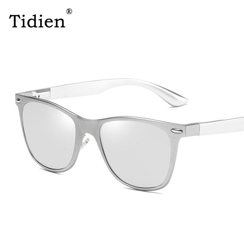 3d8deee78d Clásico Matt cuadrado gafas de sol de Metal hombre Tidien, diseñador de  marca, conducción