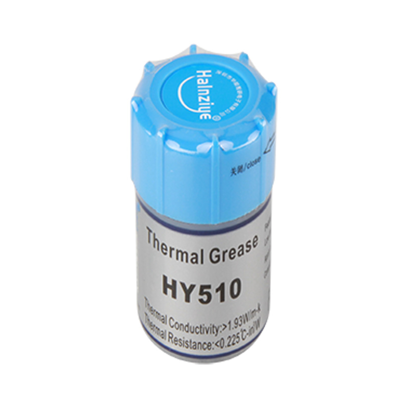 <font><b>HY</b></font>-<font><b>510</b></font> The gray heat-conducting silicone grease in 20 g small bottle package is used for CPU heat dissipation image