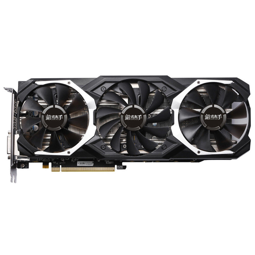 Yeston Rx 580 8Gb Gpu 256Bit Ddr5 Graphics Card Pci-E 3.0 4 X Hdmi 14Nm