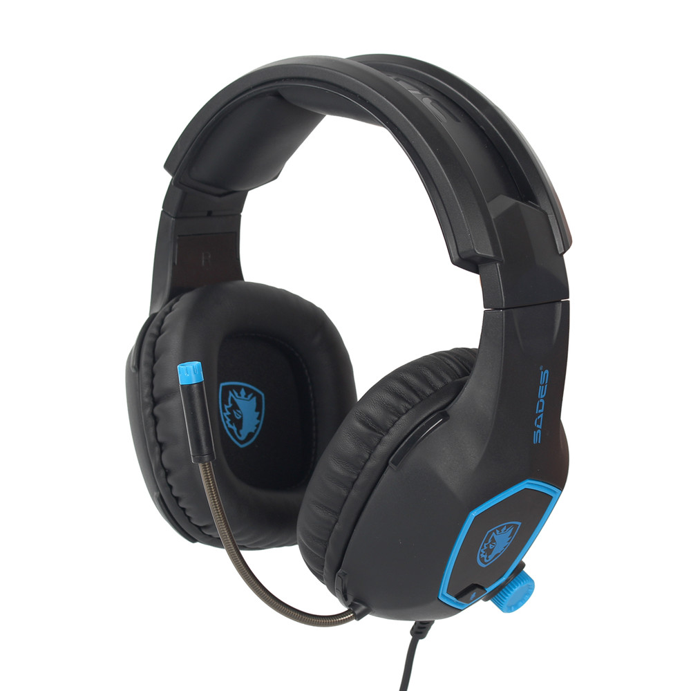 Sades Sa818 Computer Gaming Headphones Pc Gamer Headset For Ps4 New Xbox One Controller Laptop Mobile Phone With Mic Bass Casq