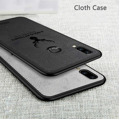 Shockproof Deer Cloth Cases For Xiaomi Mi 9SE 8 A2 Lite 6X 5X Pocophone F1 Redmi Note 7 Note 6 5 pro S2 6A 5plus 4X Cover Coque Islamabad