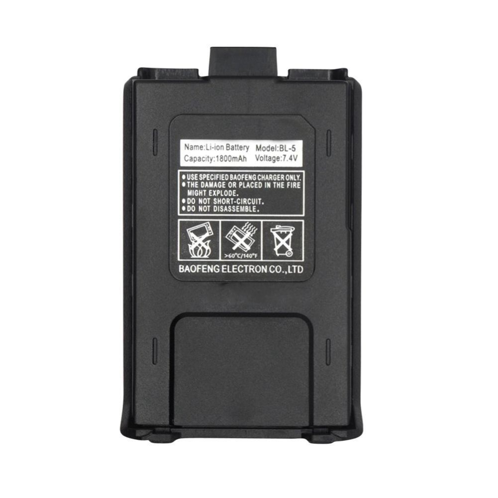 800mah BL-5 Original Li-Ion Baofeng Uv5r Battery For Radio Walkie Talkie Accessories Baofeng UV 5R Uv-5re 5ra Uv 5r Battery