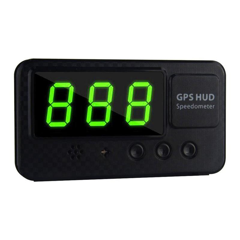 Universal Auto Digital Car GPS Speedometer Speed Display KM/h MPH For Car Bike Motorcycle Over-speed Alarm Setting Easy Setup