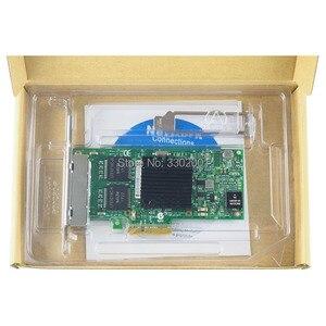 Image 5 - FANMI I350 T4 4 יציאת Gigabit Ethernet PCI Express X4 intel I350AM4 שרת מתאם רשת כרטיס