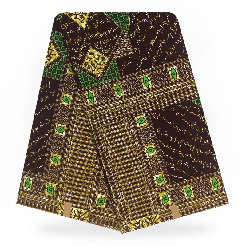 Nigeria Wax Hollandaise 2018 6yardlot Print Hollandaise Wax Fabric Sewing Material Latest Design 100% Cotton African Fabric