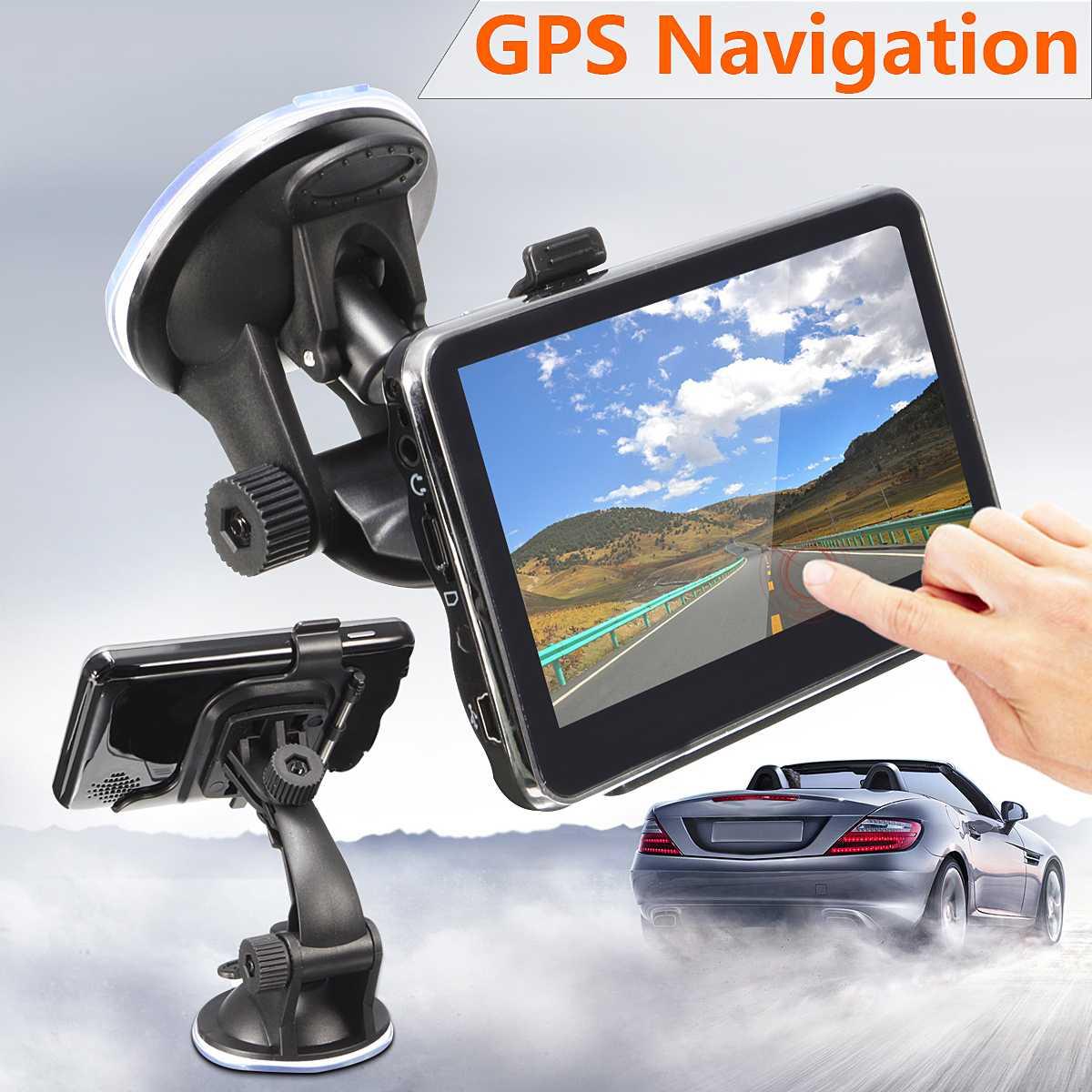 4.3 HD Car GPS Navigation FM Radio Player Automobile Navitel Europe & UK Map Free Sat Nav Truck gps Navigators Automobile