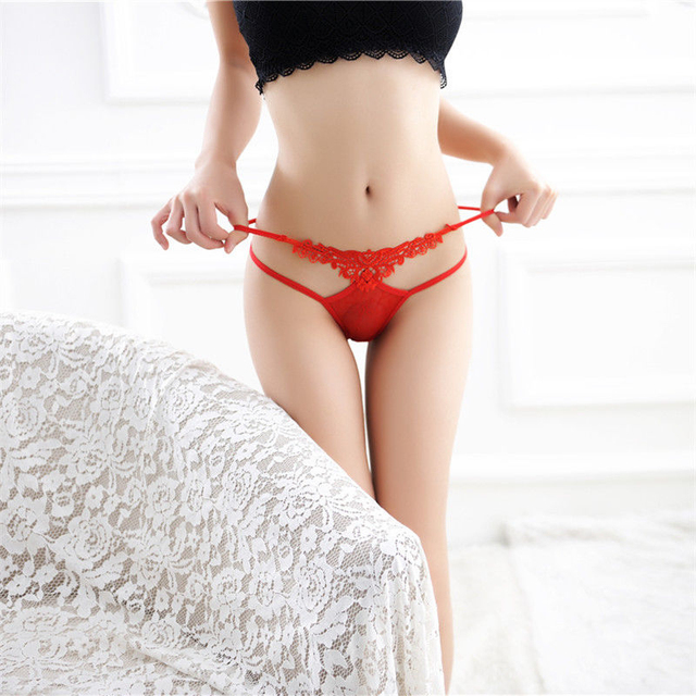 Lace Sex Panties Sexy Lingerie Femme Thin Lingerie Sexy Hot Erotic Women's Pants G-string Thong Sexy Underwear Transparent Hot 1