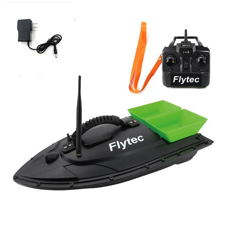 Équipement de pêche accessoire outil 500 M Intelligent RC appât bateau jouet Double entrepôt appât pêche paquet réparation mise à niveau Kits