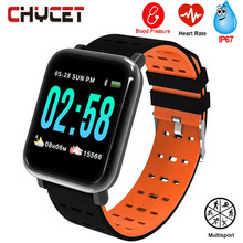 Smart Watch Men Women Blood Pressure Watch Waterproof GPS Smartwatch Fitness Tracker Watches Wearable Device For Android IOS