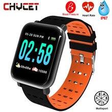 Smart Watch Men Women Blood Pressure Watch Waterproof GPS Sm
