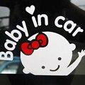 Автомобиль Стайлинг 3D мультфильм наклейки s ребенок в автомобиле согревающий автомобиль-наклейка ребенок на борту высокое качество - фото
