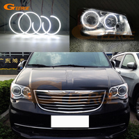 For Chrysler Voyager Grand Voyager 2008 2014 smd led Angel Eyes kit Excellent Ultra bright illumination DRL