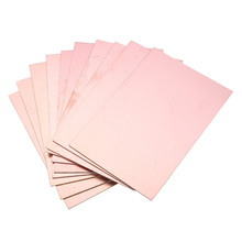 10pcs 10x15cm Double-sided Copper PCB Board FR4 Fiberglass Board