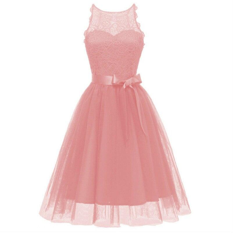 pink Pour Fête Tenue De Robes Shiping Blue red Kleider Rouge Muxu Libre Vêtements Mujer Femme Dentelle Sukienka Ropa Vêtement Mode Patchwork Jurken 4XnvnRx