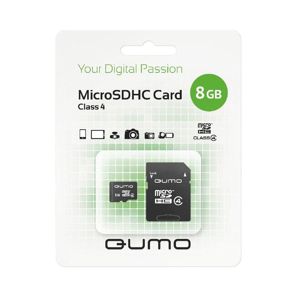 Купить со скидкой Карта памяти QUMO QM8GMICSDHC4 microSDHC 8GB