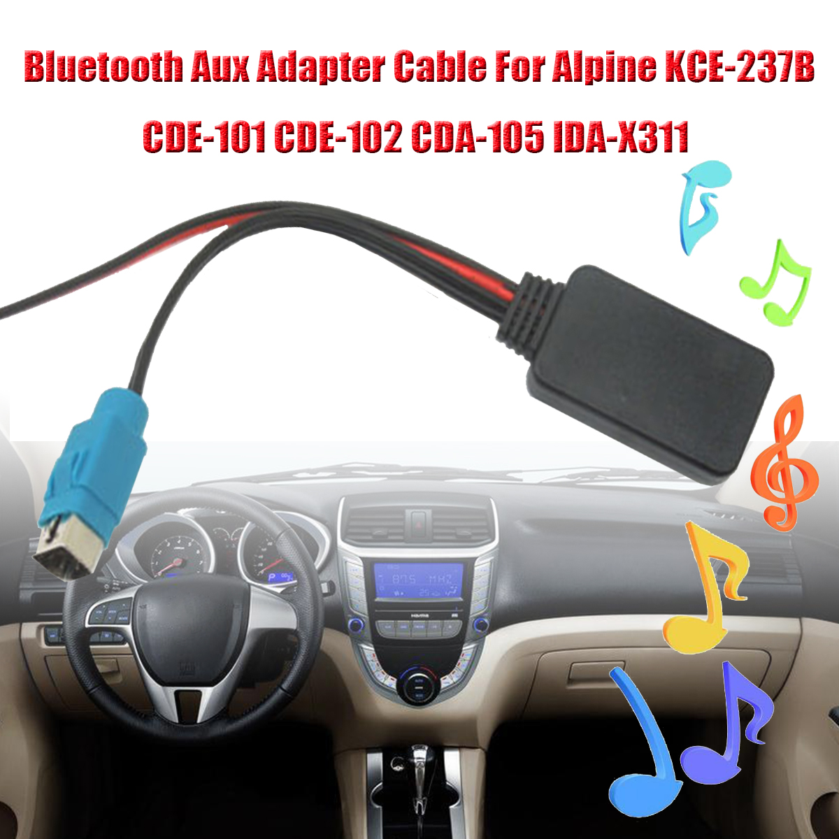 detail feedback questions about bluetooth aux adapter cable for rhaliexpress alpine cde 102 wiring diagram [ 1200 x 1200 Pixel ]