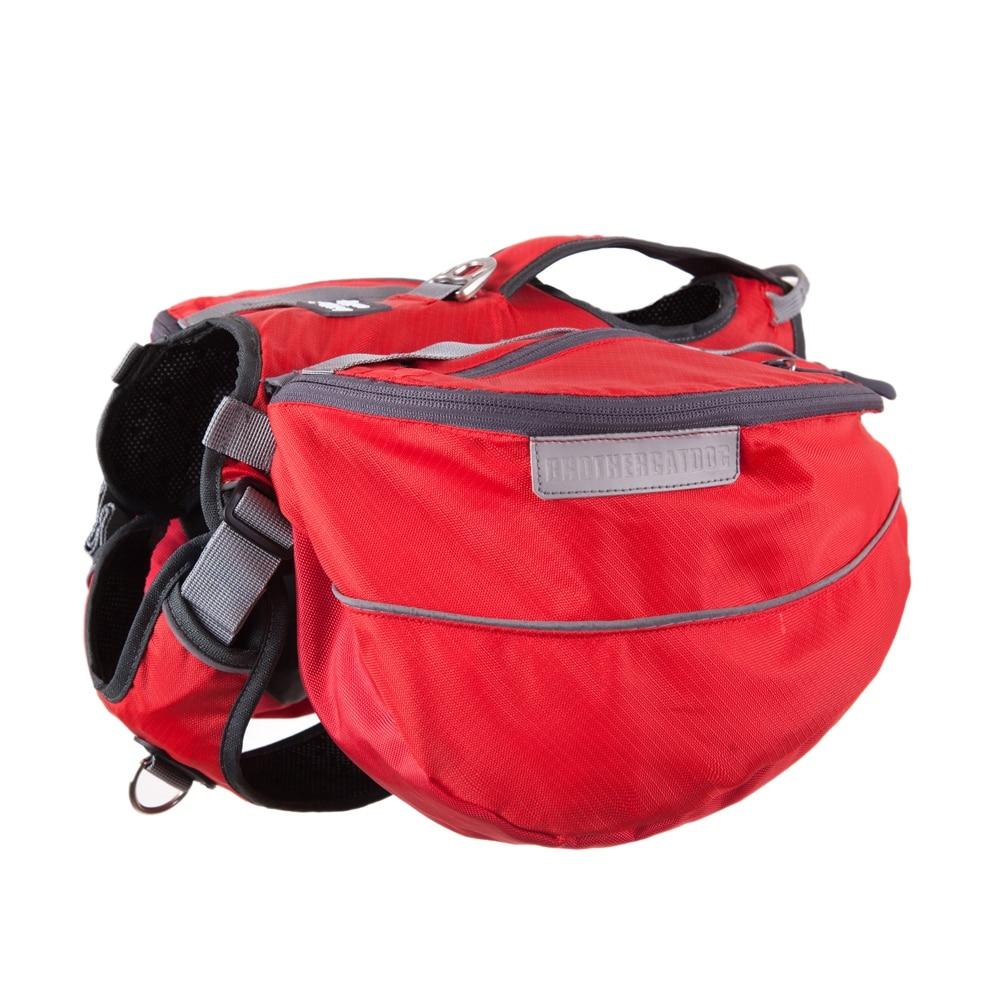 brother cat dog New Design Pet Dog Harness Training Walk Vest For Big Large Dogs Snack Pack Adjustable Backpack Padded Travel