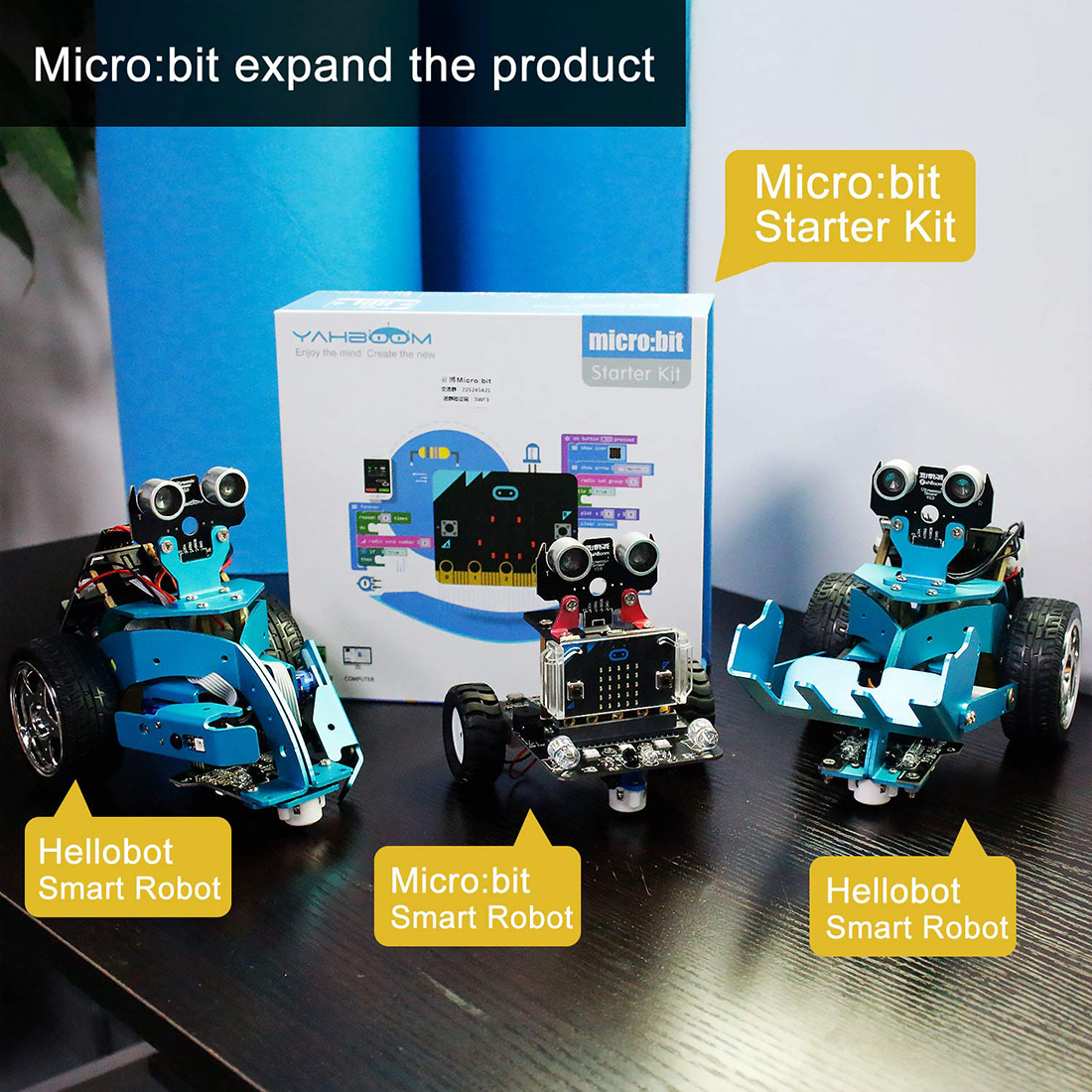 2019 New Graphical Programmable Robot Car With Bluetooth Ir And Tracking Module Stem Steam Robot Car Toy For Micro:bit Bbc(China)