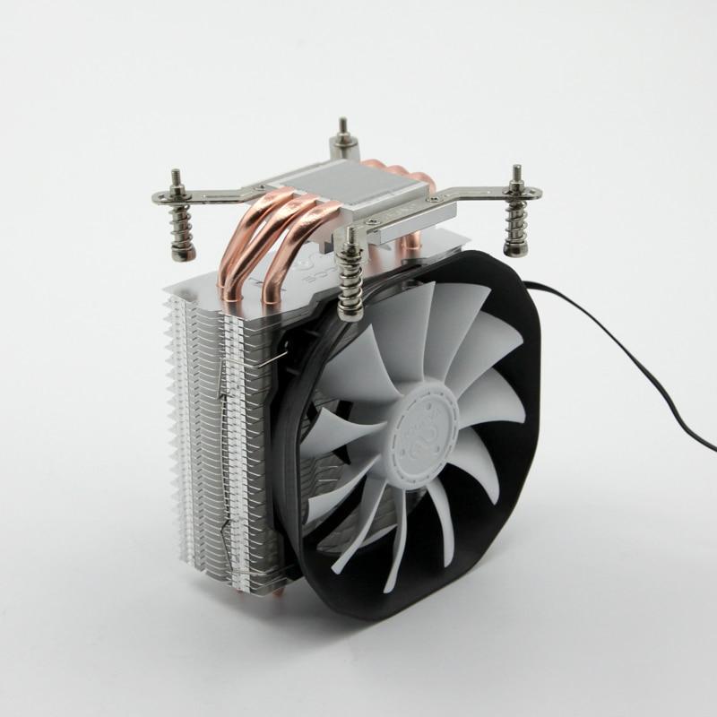 SOPLAY CPU Cooler fan 3 heatpipes 4pin 115mm Fan Aluminum Heatsink for LGA 1150/1155/1156/FM2/FM1/AM4/AM3+/AM2/940/939/754 cooler for cpu crown cm 80 775 1156 1155 1150 1151 am2 am2 am3 am3 fm1 fm2 754 939 940 низкопрофильный