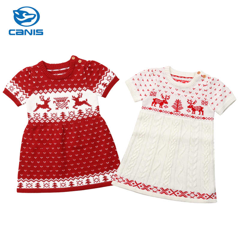 18dfe99ad17c Detail Feedback Questions about Christmas Dress Newborn Kids Baby ...