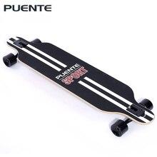 Пуэнте Модные скейтборд длинный скейтборд четыре колеса Ролик Скутер путешествия Инструменты Longboard 6 цветов