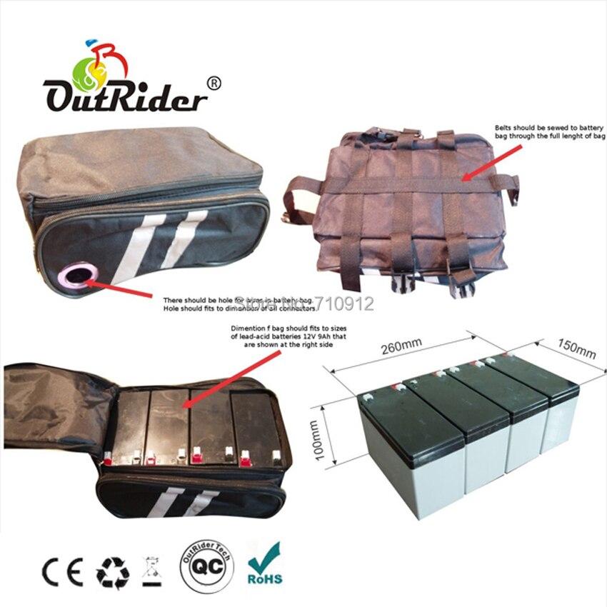Batterie de qualité supérieure 48 V 15Ah avec chargeur OR02A5