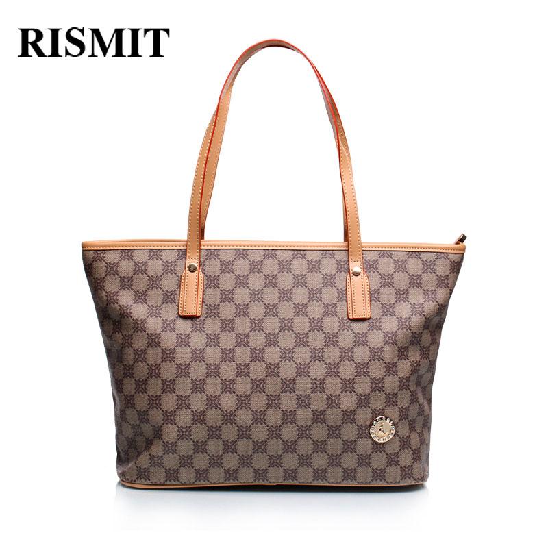 RISMIT 2017 nouveau mode classique sacs poignée sacs femmes sac à main Saffiano haute qualité PVC épaule fleurs sacs Zipper pailleté