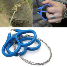 Emergency Survival Gear Roestvrij Staaldraad Saw Hand Chain Saw Veiligheid Survival Decoupeerzaag Kettingzaag Emergency(China)