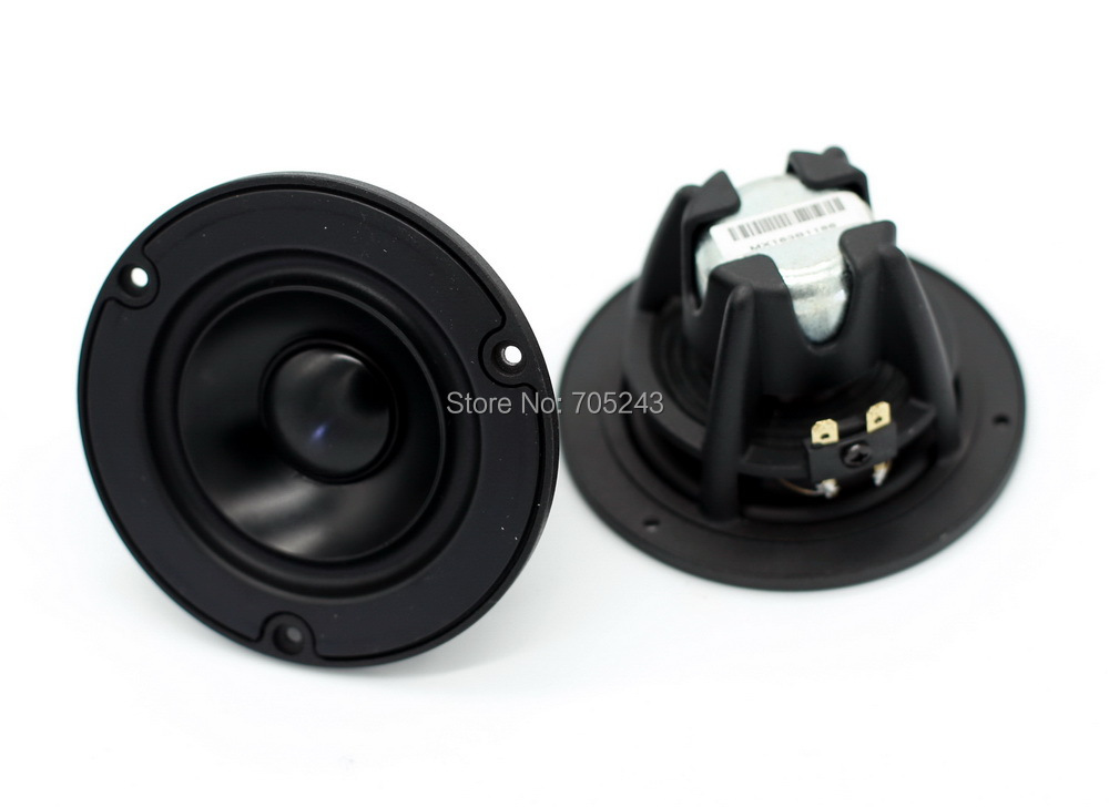 2 Pcs Melo David Audio   VIFA 3 Inch  3inch NE95-04 Fullranger Full Range  For HIFI AV CAR Woofer Speaker  Desk Audio