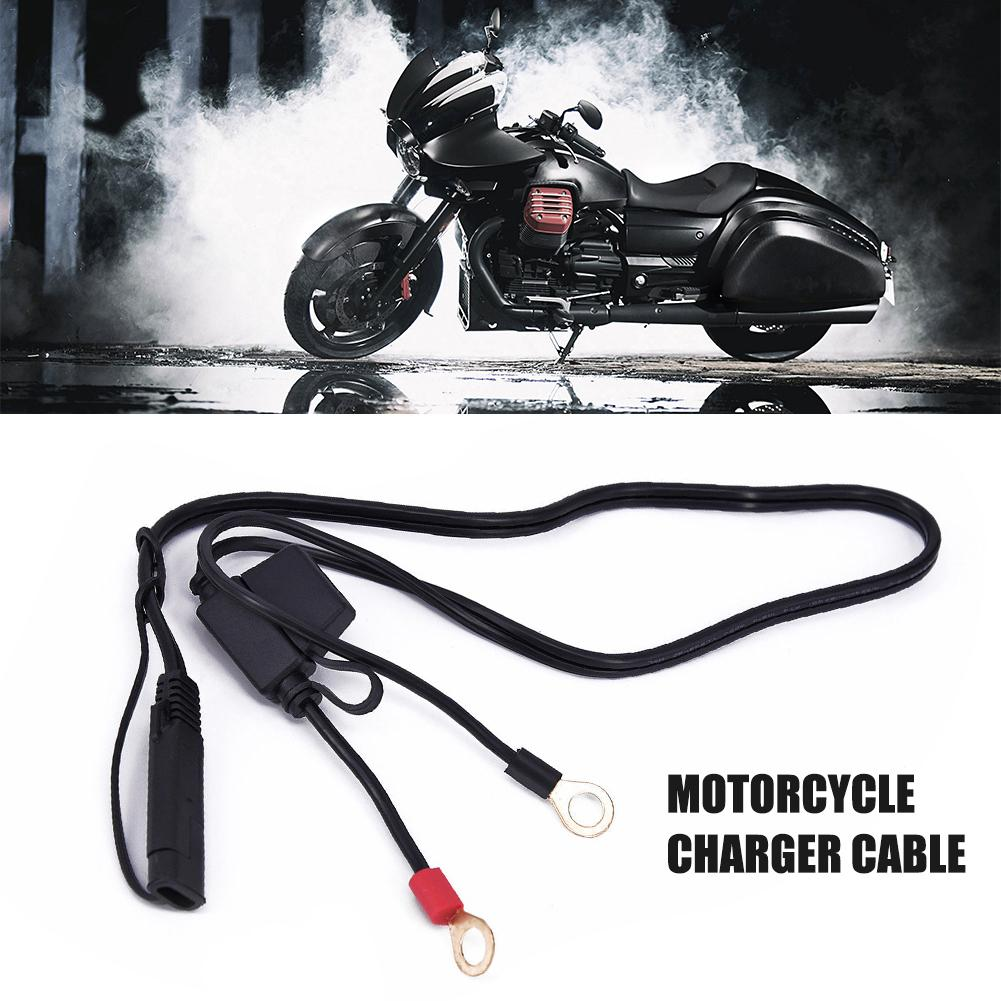 12V Motorcycle Battery Charging Cable Motorcycle Charger Cable Charger Cable
