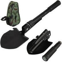 Новинка 4 в 1 Складная лопата садовая лопата инструменты кемпинг поход лопаты сумка